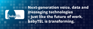 Next-generation voice, data and messaging technologies - just like the future of work, babyTEL is transforming. Stay tuned to see what's in store!