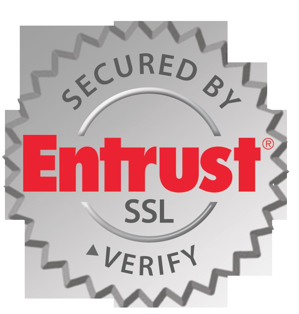 Secured by Entrust, SSL verify